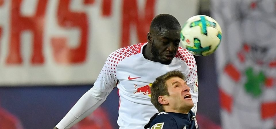 Arsenal fans want Dayot Upamecano signed in January