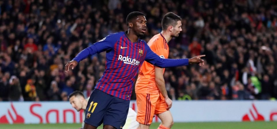 Barcelona's continued Neymar interest is bad news for Dembele