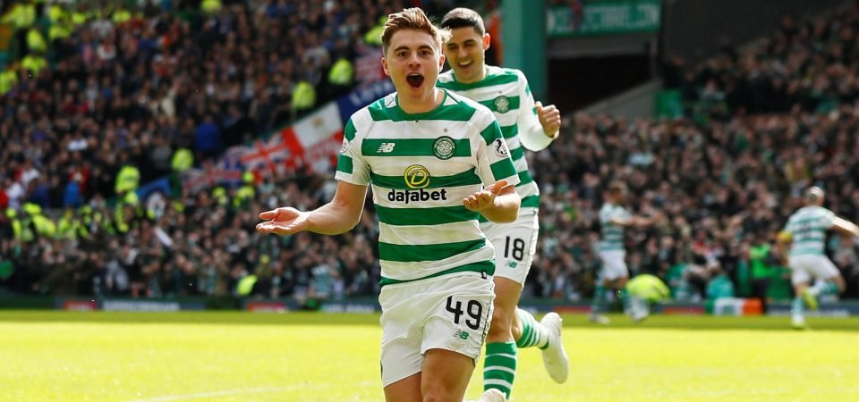 James Forrest and Leigh Griffiths available for Celtic against FC Midtjylland