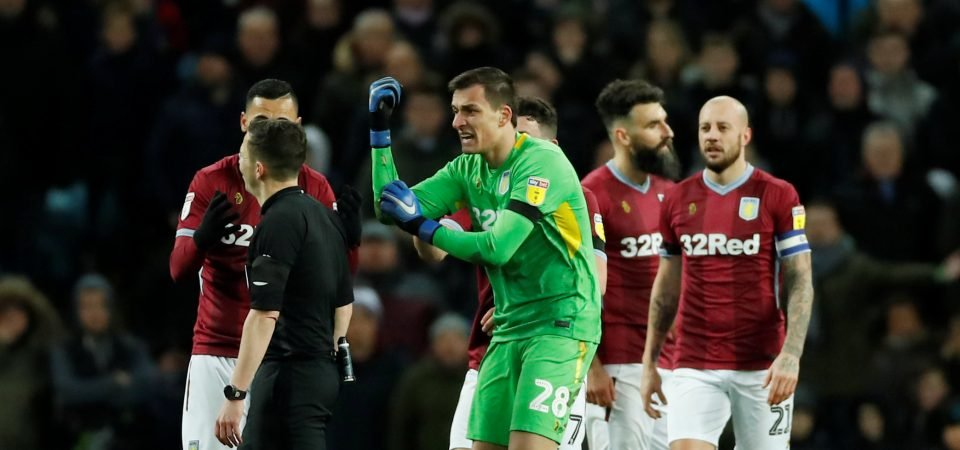 Aston Villa fans want Lovre Kalinic to get a second chance next season