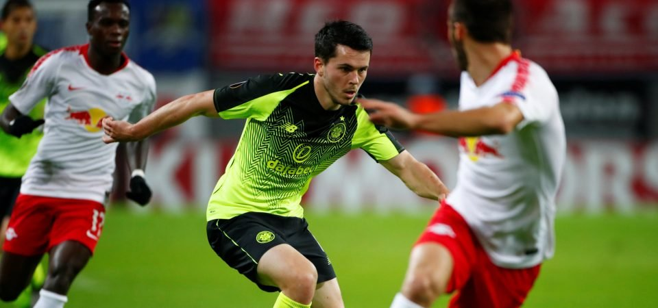 Celtic's Lewis Morgan could benefit from Mikey Johnston injury blow