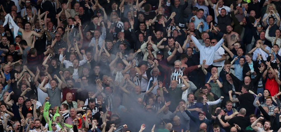 Newcastle fans react to Sky Sports transfer update