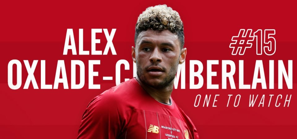 Alex Oxlade-Chamberlain is Liverpool's one to watch this season