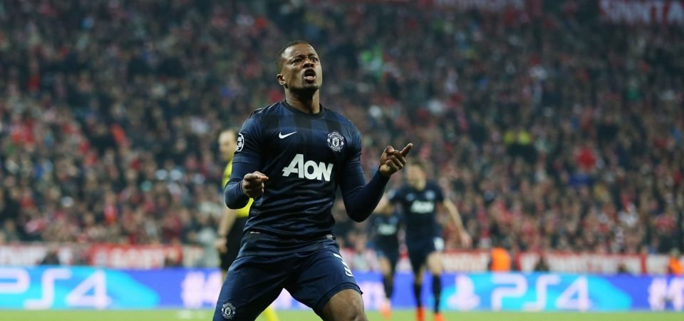 Manchester United icon Patrice Evra pays tribute to former clubs on Instagram