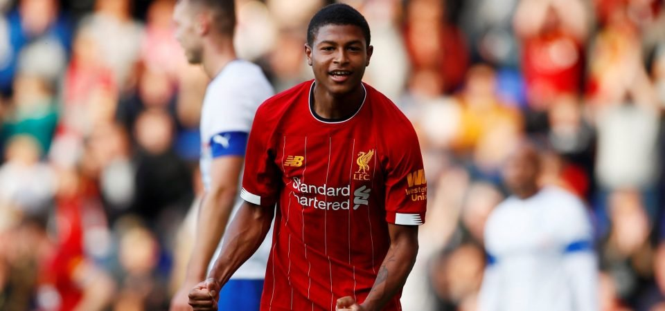 Liverpool's Rhian Brewster still can't accept his FIFA 20 rating