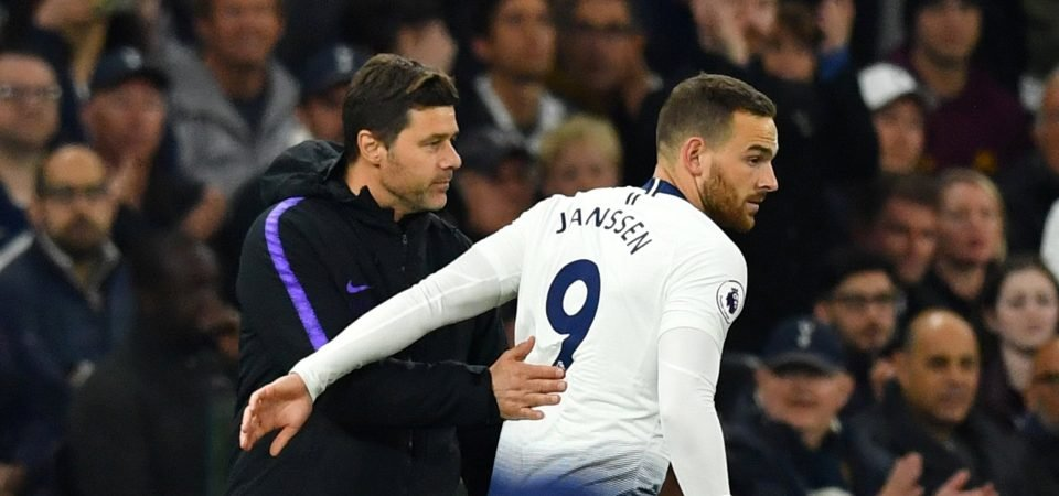 Tottenham fans debate Vincent Janssen with player reportedly about to leave