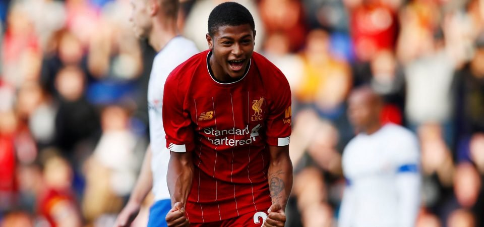 Liverpool can rely on Rhian Brewster amidst Sadio Mane's early season absence