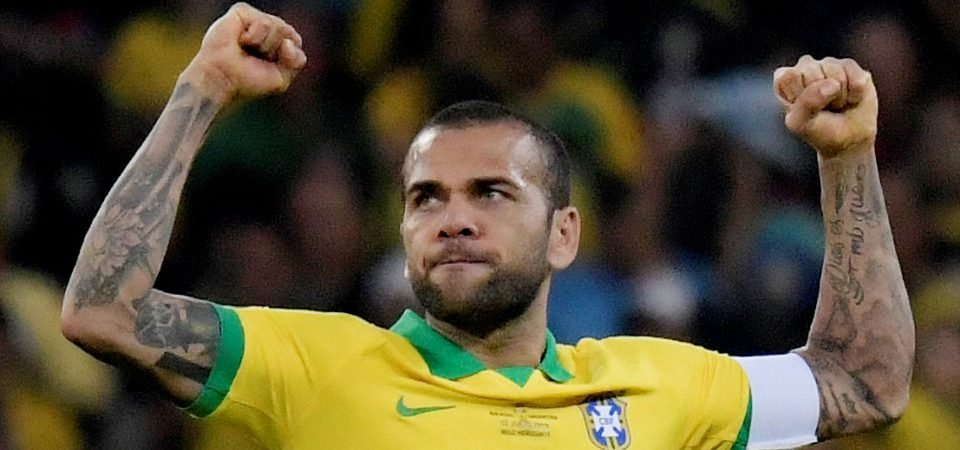 Liverpool transfer target Dani Alves can offer more than just right-back cover