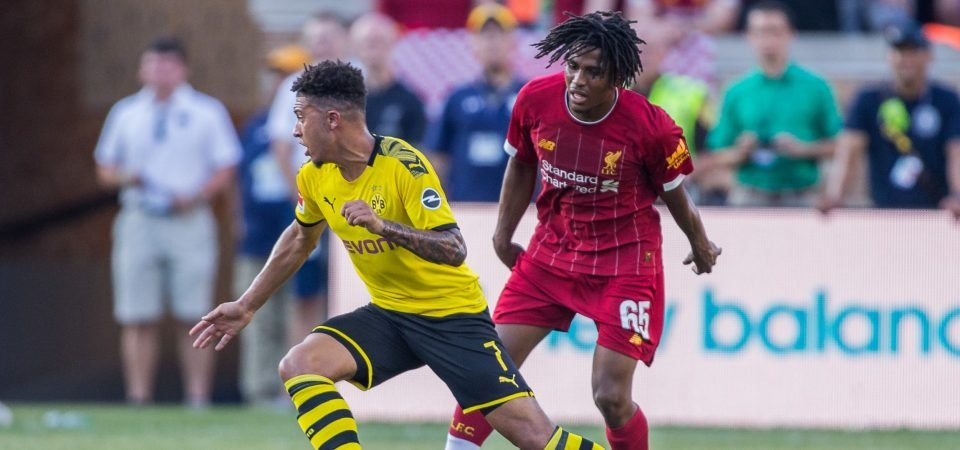 Liverpool's young star Yasser Larouci could be set for big things at Anfield