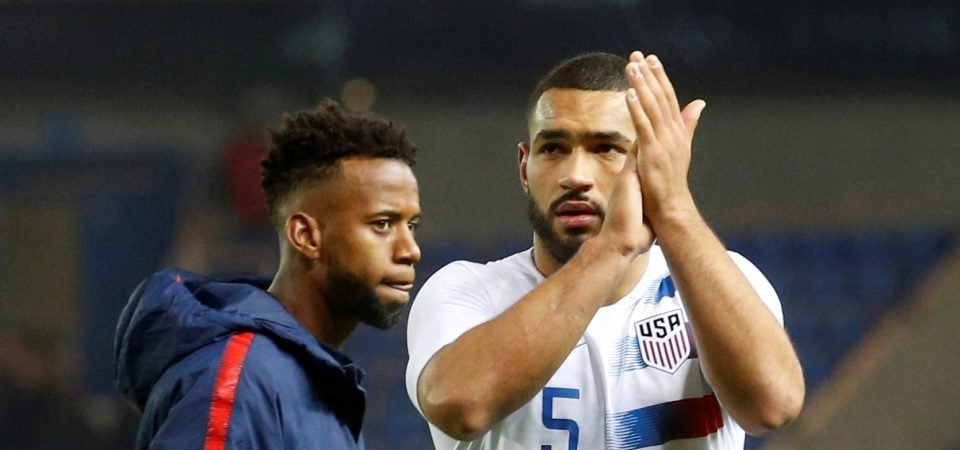 Tottenham confirm Cameron Carter-Vickers has joined Stoke City on loan