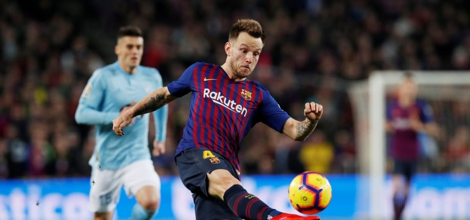 Barcelona's issues might stem from Ivan Rakitic's omission