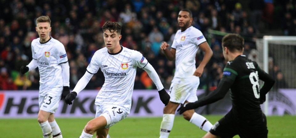 Bayer Leverkusen's Kai Havertz is one of Europe's most prodigious talents