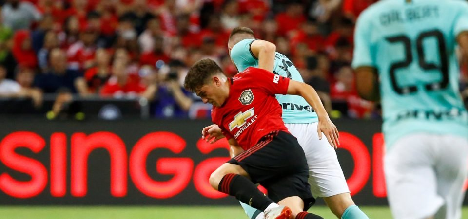 Manchester United newcomer Daniel James praised on Instagram after his first goal