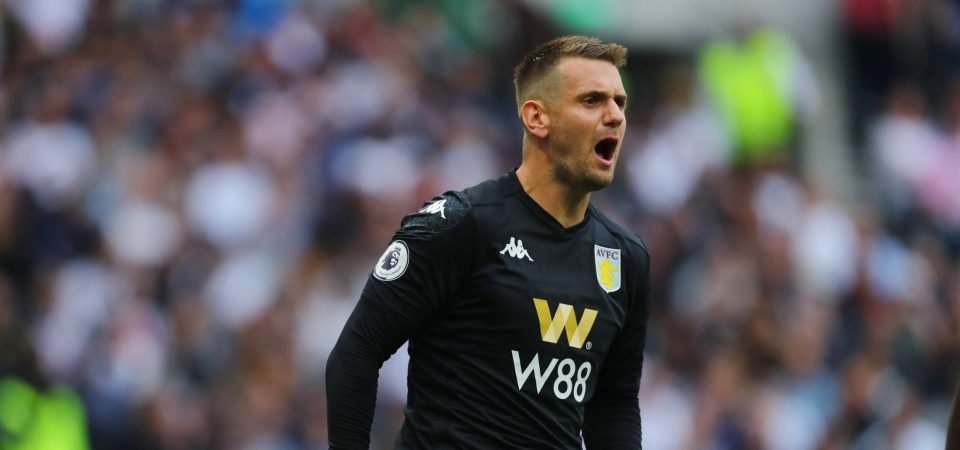 Pl>ymaker FC's Jude Aston discusses how important Tom Heaton could be to Aston Villa this season
