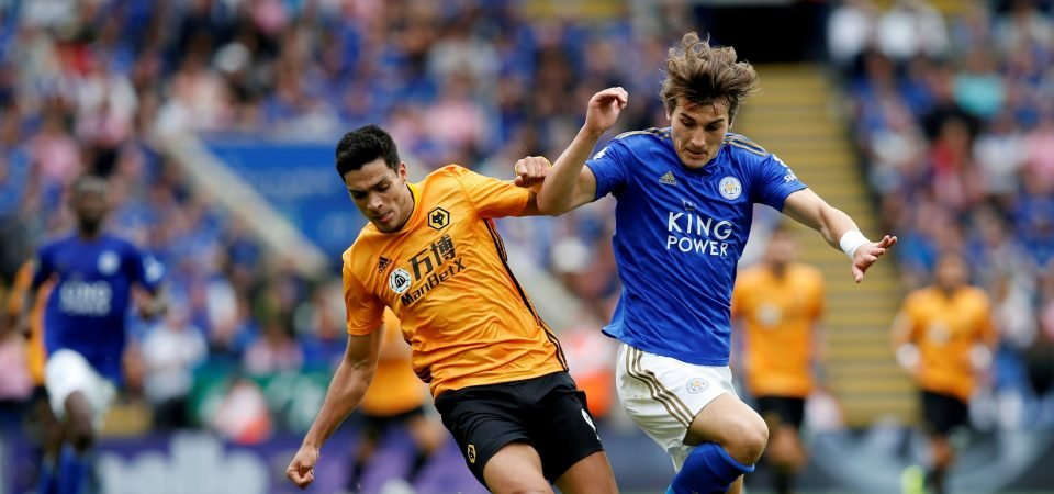 Leicester City fans laud Caglar Soyuncu after star display against Wolves