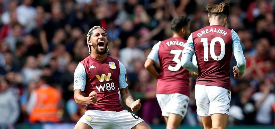 Aston Villa's Douglas Luiz papers over the cracks after poor first start