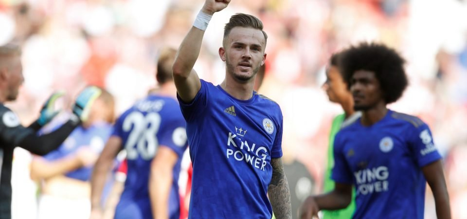 Leicester's James Maddison rated above Mason Mount and TAA by ESPN pundits