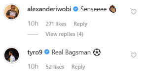 39 e1565788620630 300x157 - Eddie Nketiah posts on Instagram after scoring first Leeds goal, Iwobi and Tammy Abraham react