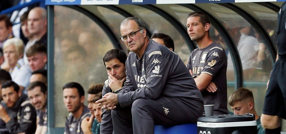 Leeds manager Marcelo Bielsa can prepare them for the future with a League Cup run
