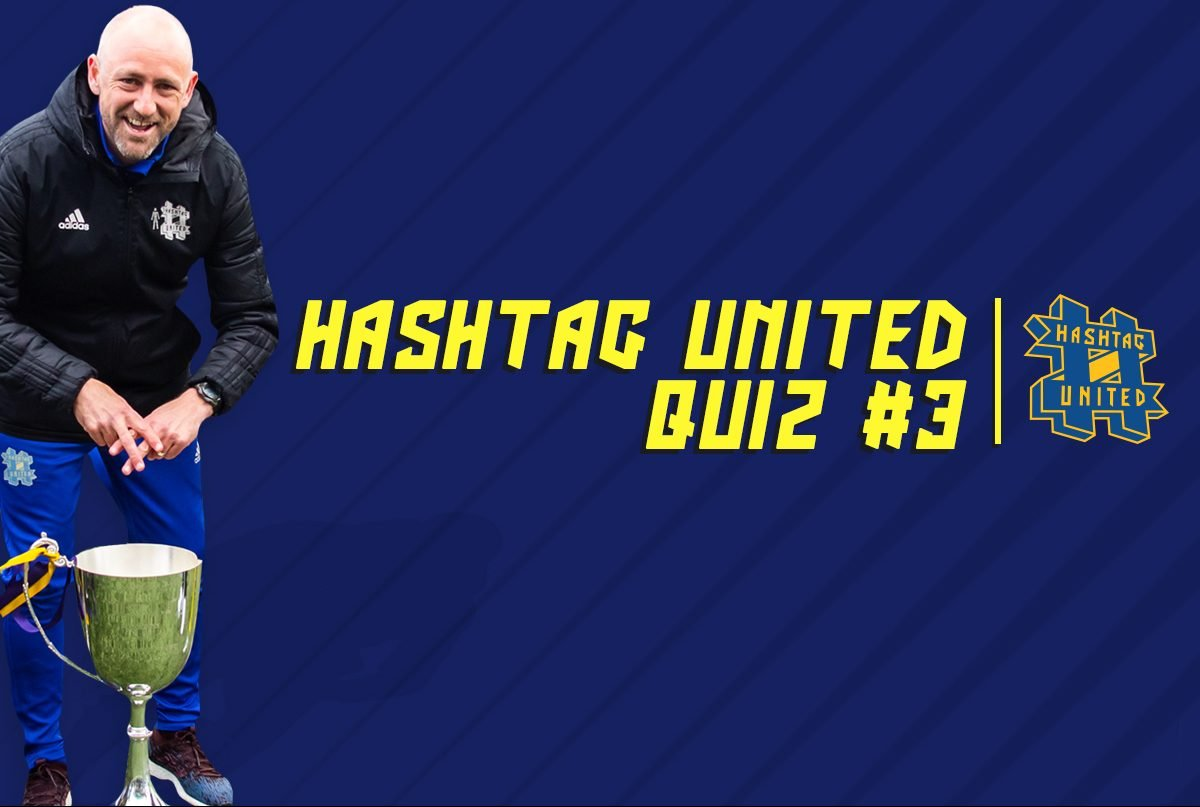 Quiz #3: Name the Hashtag United starting XI from our first ever league game!