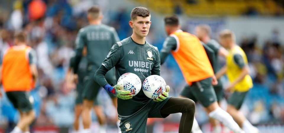 Arsenal fans want to sign Leeds' Illan Meslier after FA Cup game