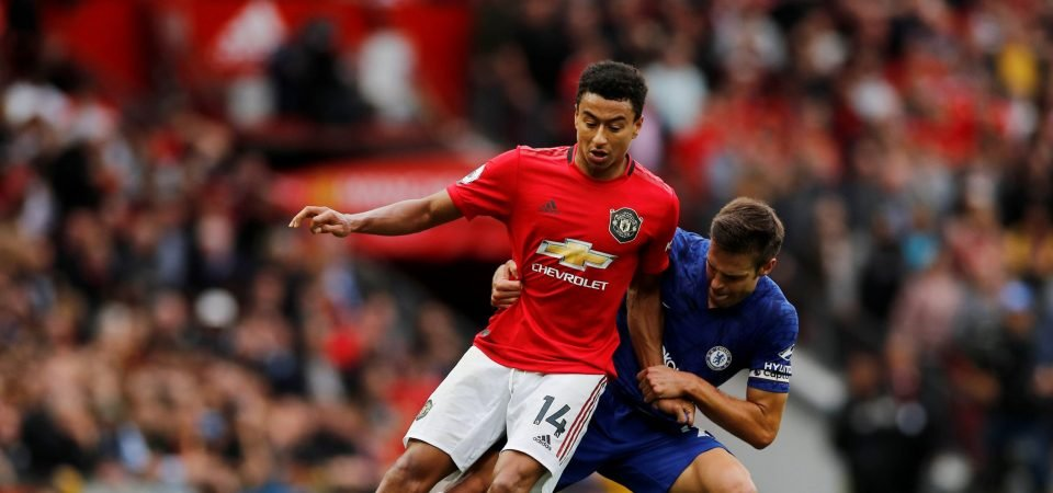 Man United fans aren't pleased with Jesse Lingard's performance on Sunday