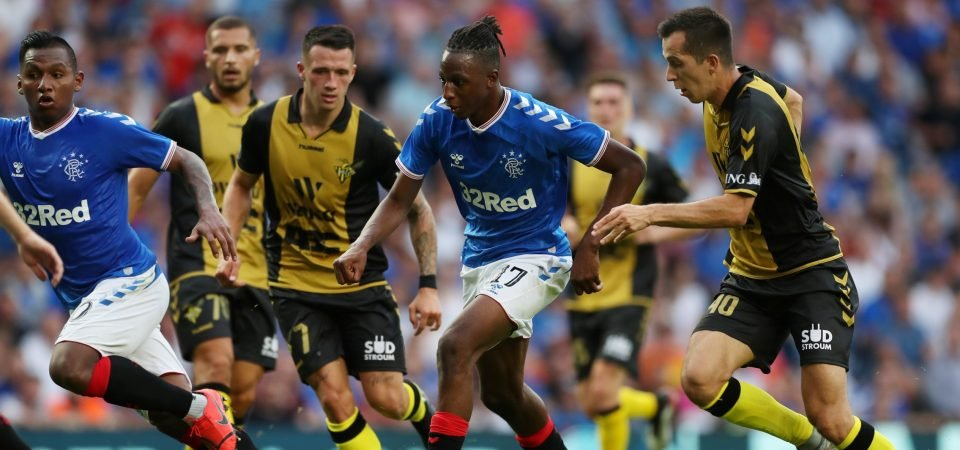 Rangers fans buzzing with Joe Aribo after comfortable victory