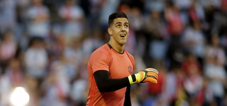 Manchester United fans react as Joel Pereira completes loan move to Hearts