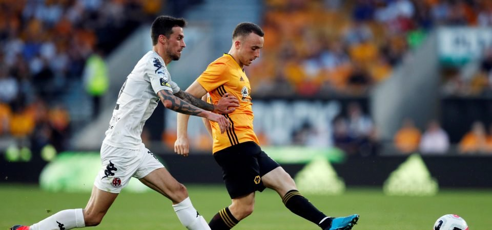 Wolves' Diogo Jota tipped to become Cristiano Ronaldo's successor in the Portugal squad