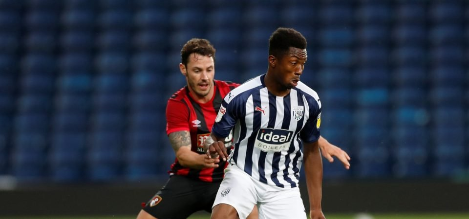 West Brom fans drool over Kyle Edwards performance