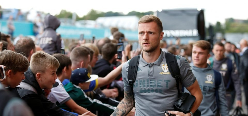 Leeds' Liam Cooper will need to be at his best to avoid another Derby horror