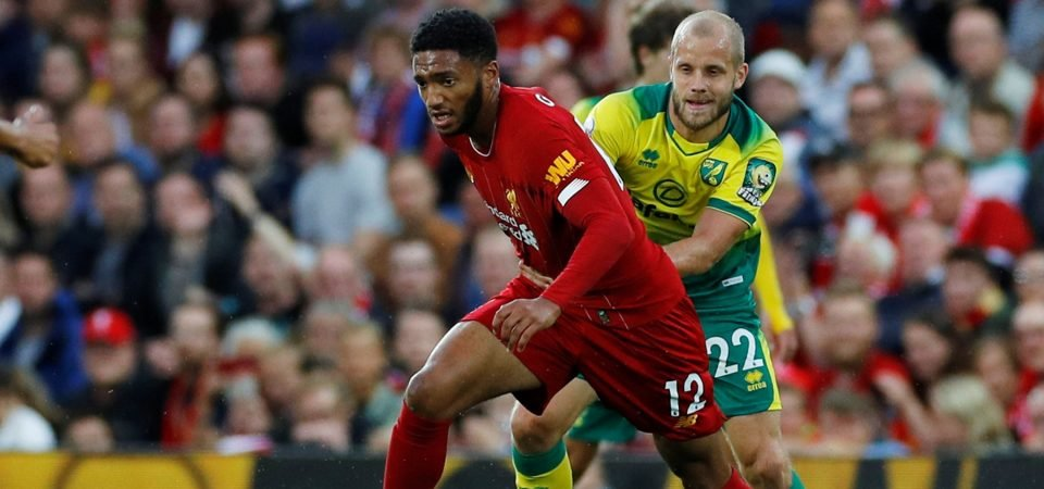 Liverpool want Joe Gomez to start ahead of Joel Matip vs Arsenal for one reason
