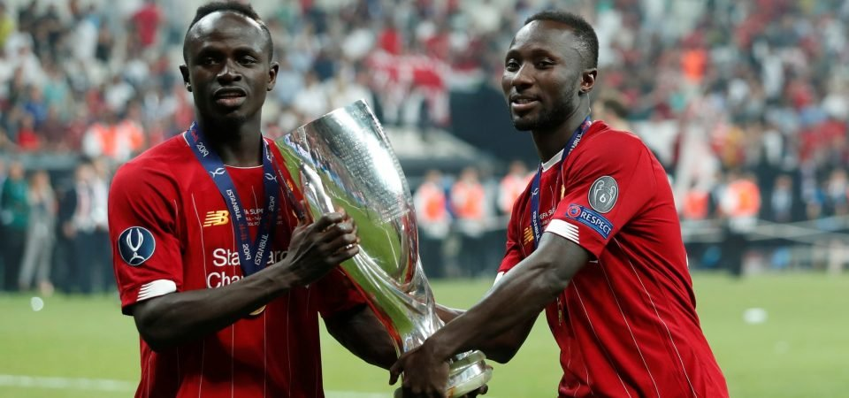 Liverpool midfielder Naby Keita has more to be worried about than just injury issues