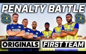 HASHTAG PENALTY BATTLE! - ORIGINALS vs FIRST TEAM