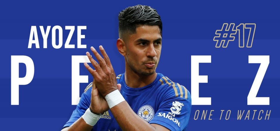 Ayoze Perez is Leicester's one to watch this season