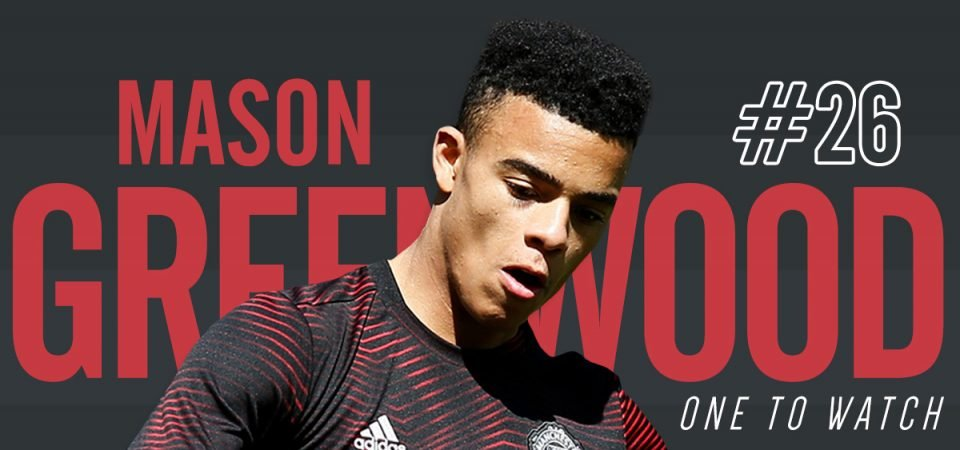 Mason Greenwood is Manchester United's one to watch this season