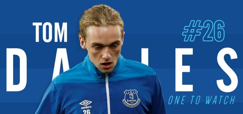 Tom Davies is Everton's one to watch this season