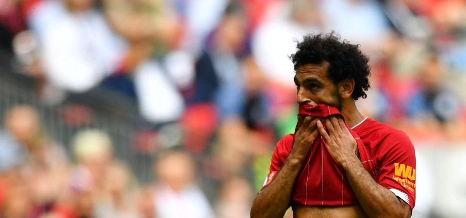 Liverpool's match-winner Mohamed Salah costs them in Community Shield