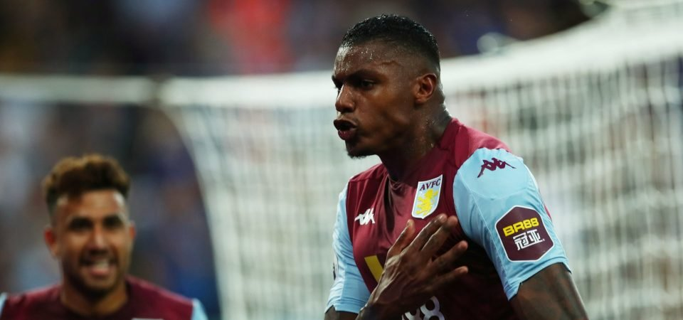Aston Villa fans delighted by Wesley display