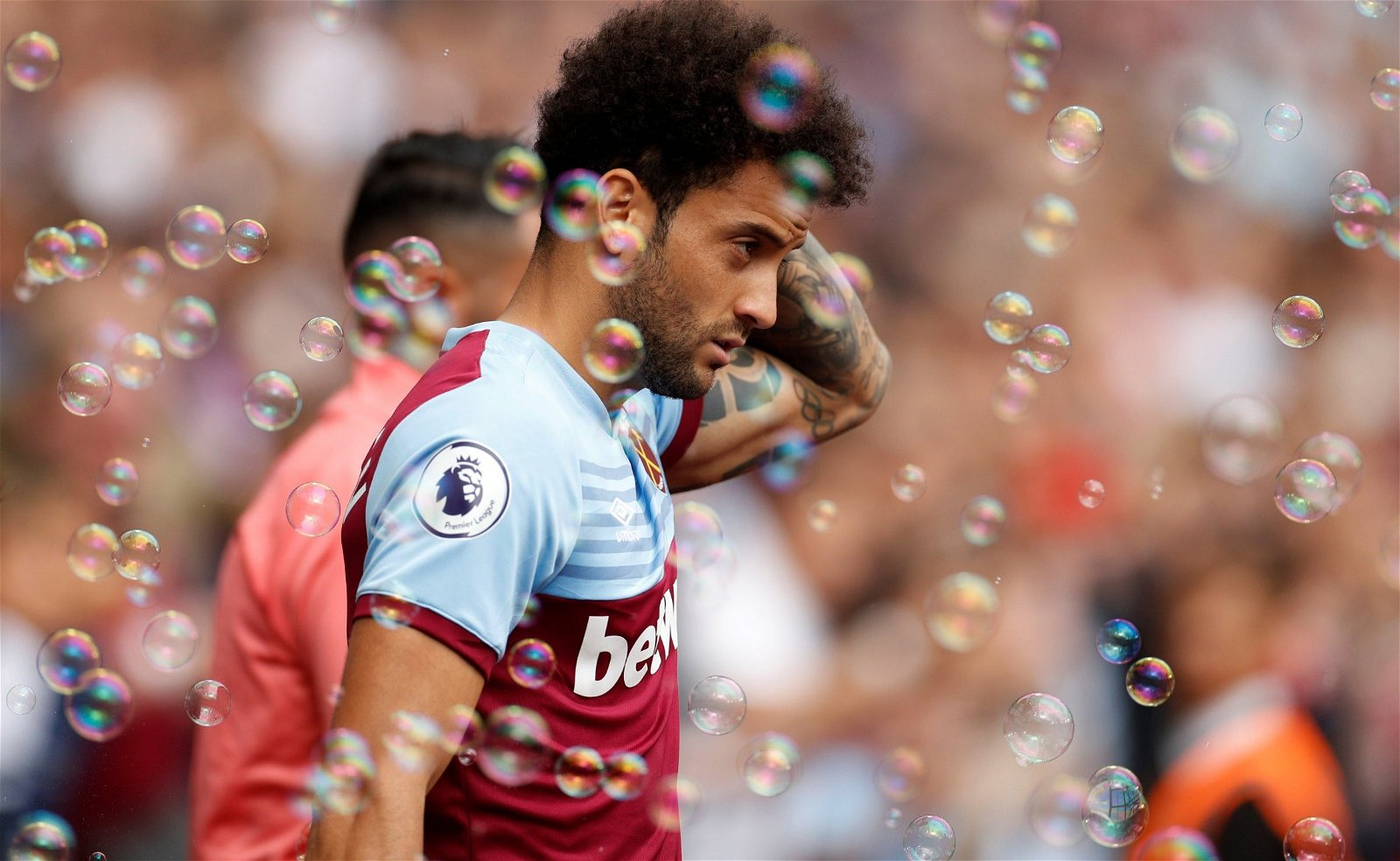 West Ham attacker Felipe Anderson prior to the clash against Man City e1565445339253 - Opinion: How the recent market decline could affect West Ham's summer business