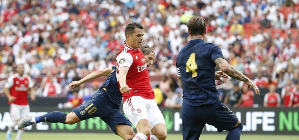 Arsenal fans divided over Granit Xhaka following victory on the opening weekend