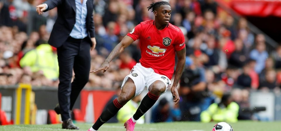 Crystal Palace fans discuss Aaron Wan-Bissaka's Manchester United debut