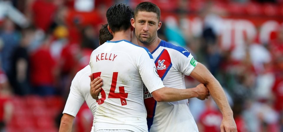Crystal Palace fans drool over Martin Kelly and Gary Cahill's partnership after 2-0 win