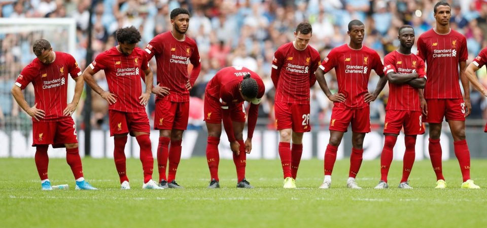 Liverpool's predicted XI for the Premier League opener against Norwich