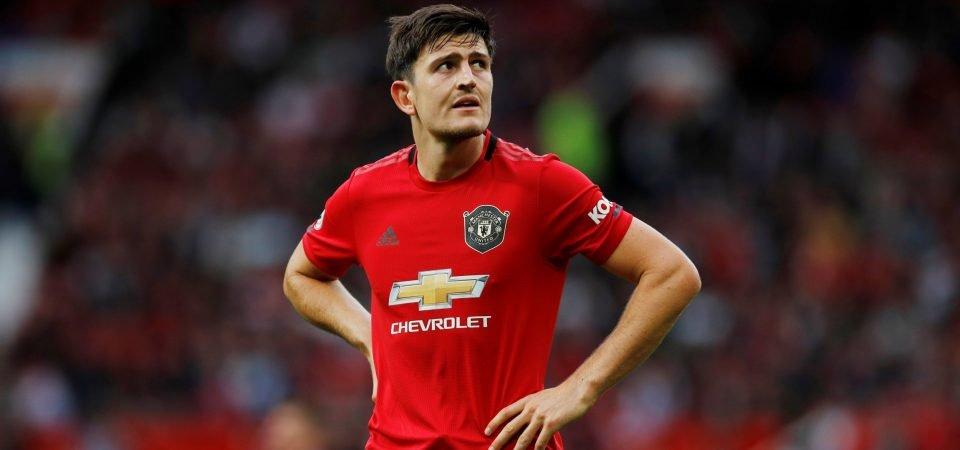 Man Utd's £80m signing Harry Maguire performing worse than he did for Leicester