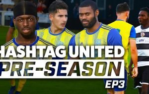 40 YARD SCREAMER! - HASHTAG UNITED PRE-SEASON 19/20 EP3