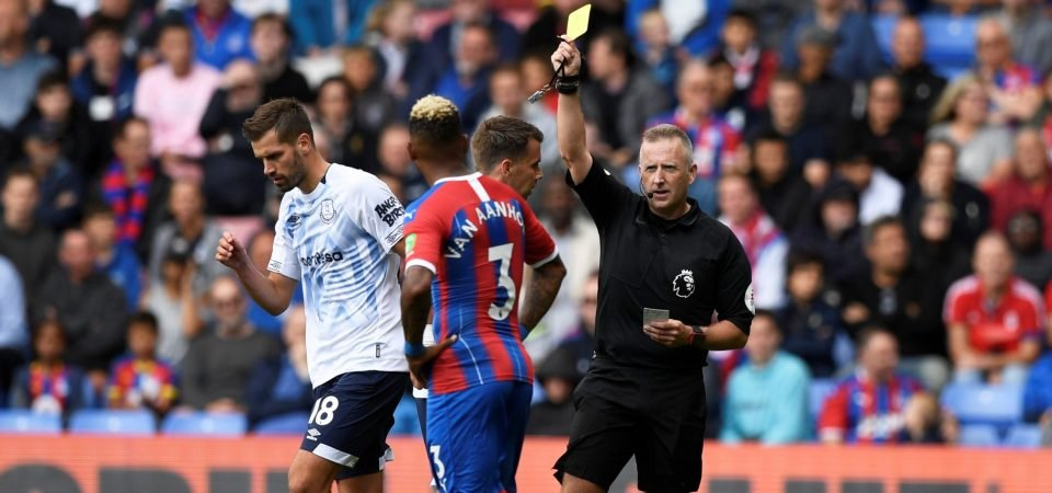 Everton fans slam Morgan Schneiderlin's performance in the 0-0 draw vs Crystal Palace