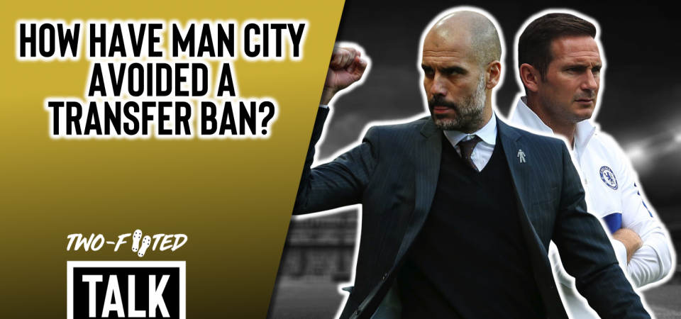 Pl>ymaker FC's Laurenz Vescoli and Joe Street discuss double standards and transfer bans