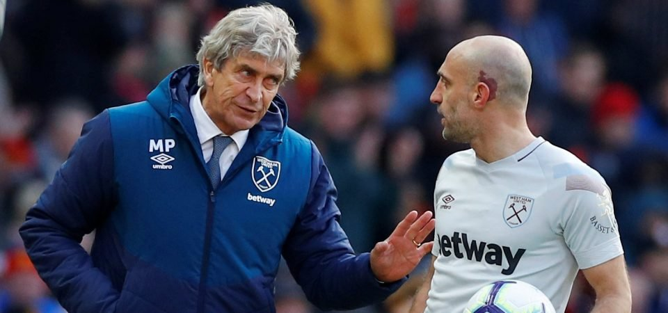 West Ham must have a defensive-midfielder & a right-back in their sights