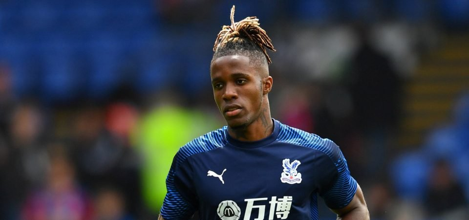 Wilfried Zaha is not wanted by Chelsea fans in January deal